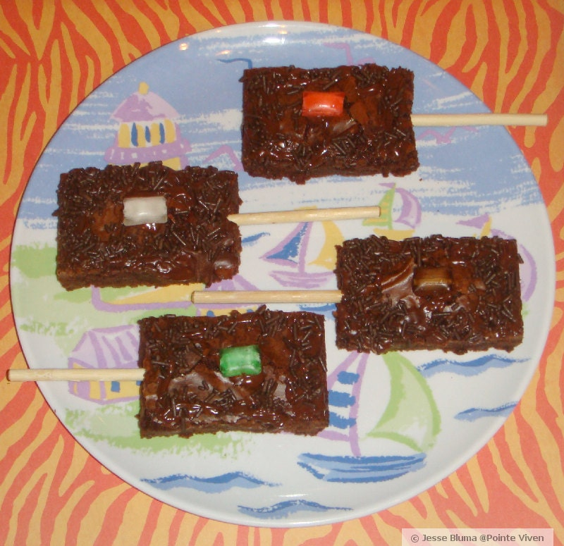 Brownie Pop-sicles
