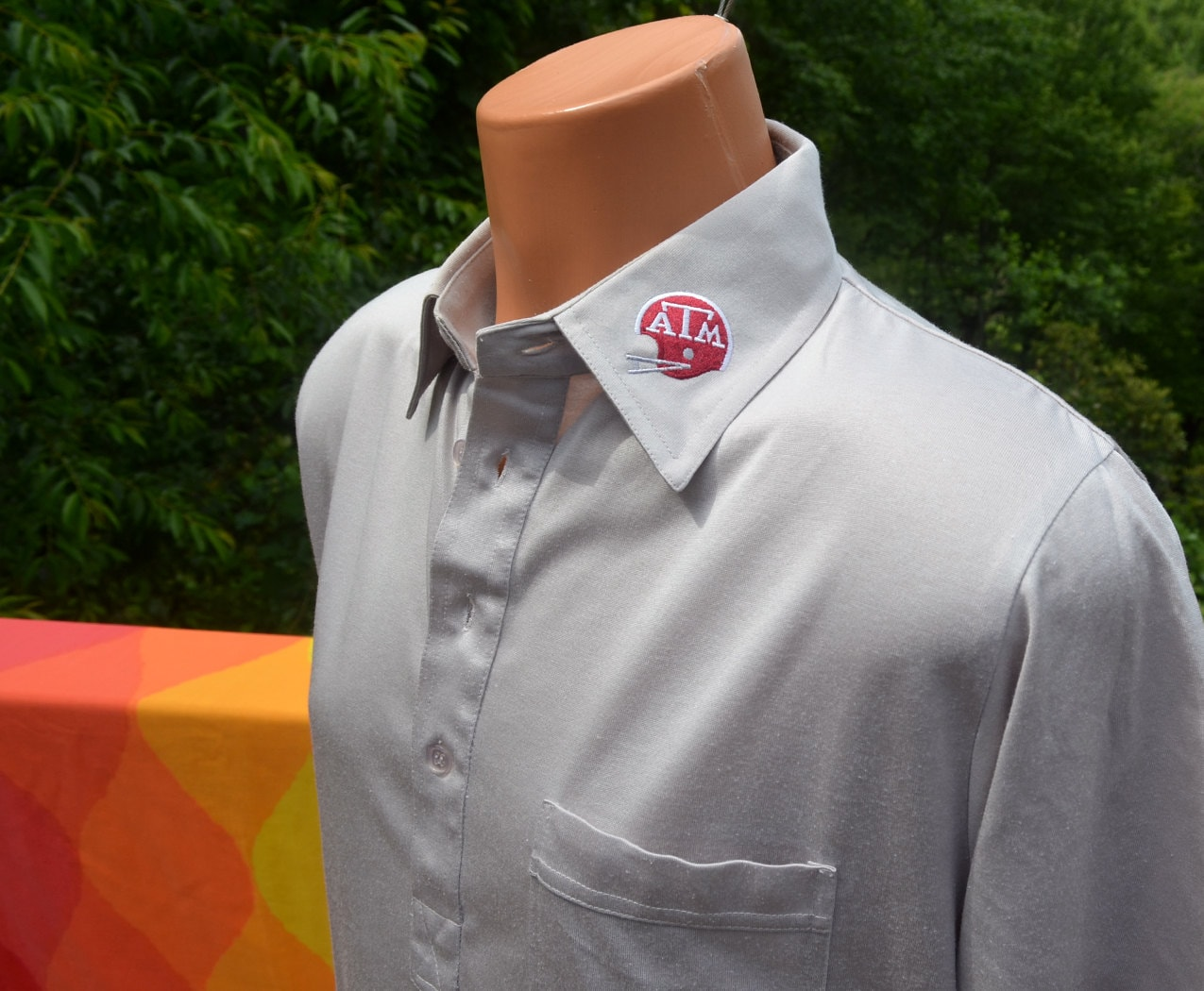 Vintage 70s polo golf shirt texas a m university by skippyhaha for Texas a m golf shirt