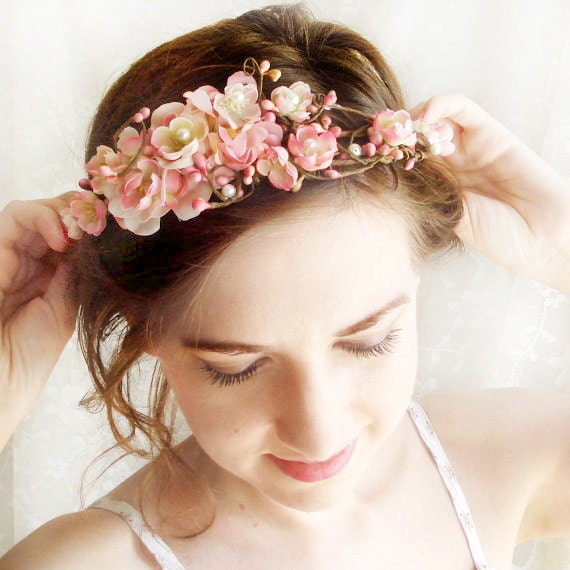 Large Wire Flower Hair Piece Flower Bobby Pin by ...