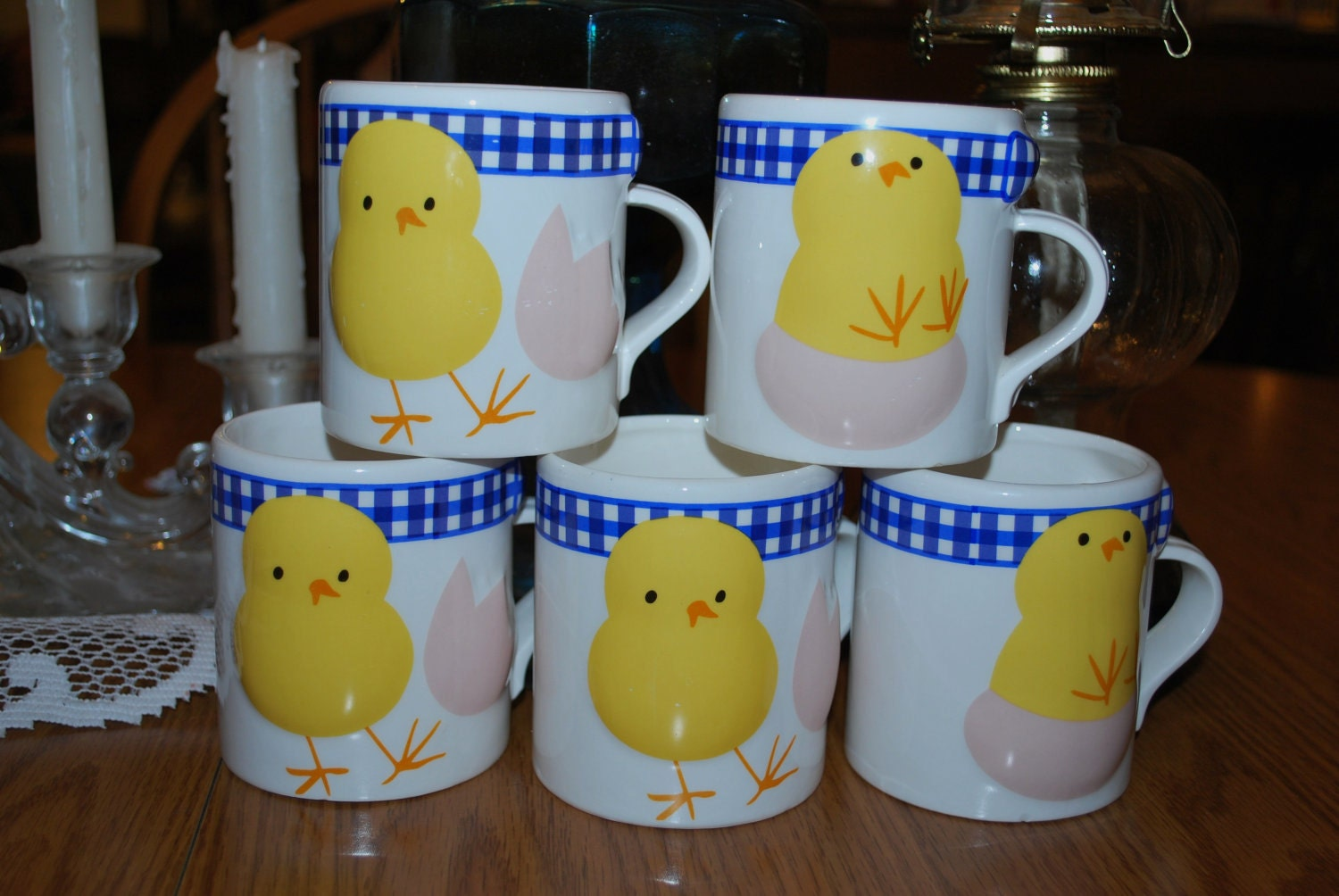 AVON COLLECTIBLE MUGS.  Perfect for Your Little Chicks.