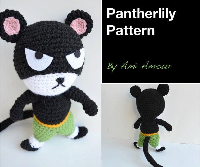 Pantherlily amigurumi pattern Fairy Tail PDF by amiamour ...