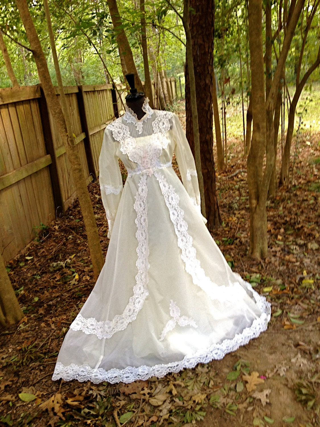 Unavailable listing on etsy for 1970s wedding dresses for sale