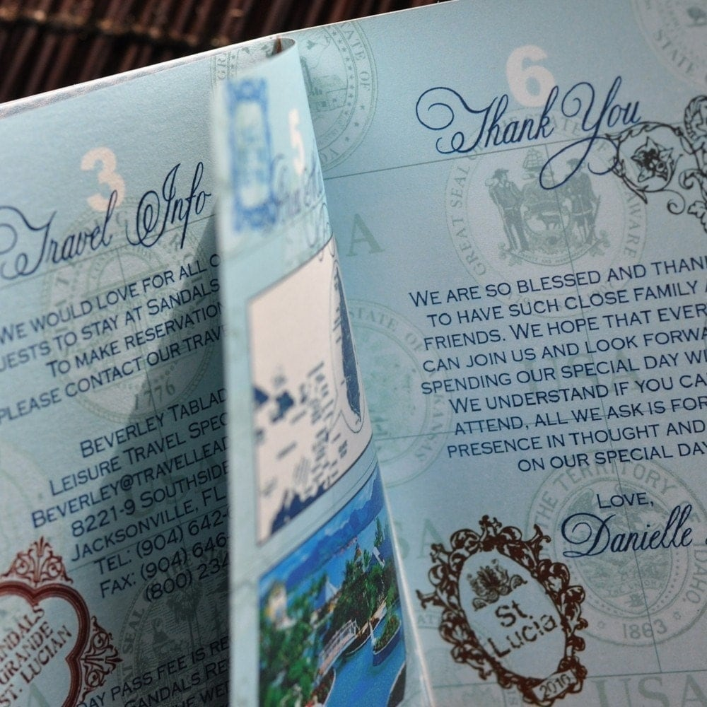 Arneri inspirations destination wedding invitation ideas for Ideas for destination wedding