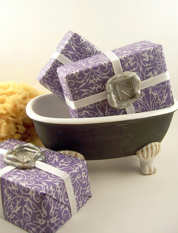 Lavender Chamomile Oatmeal Spa Soap