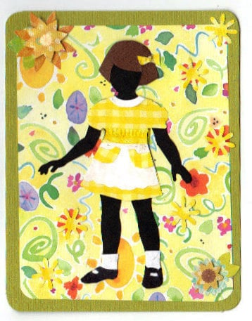Just Kids Collection  cb2011  Set of 8 Cards or 8 Postcards