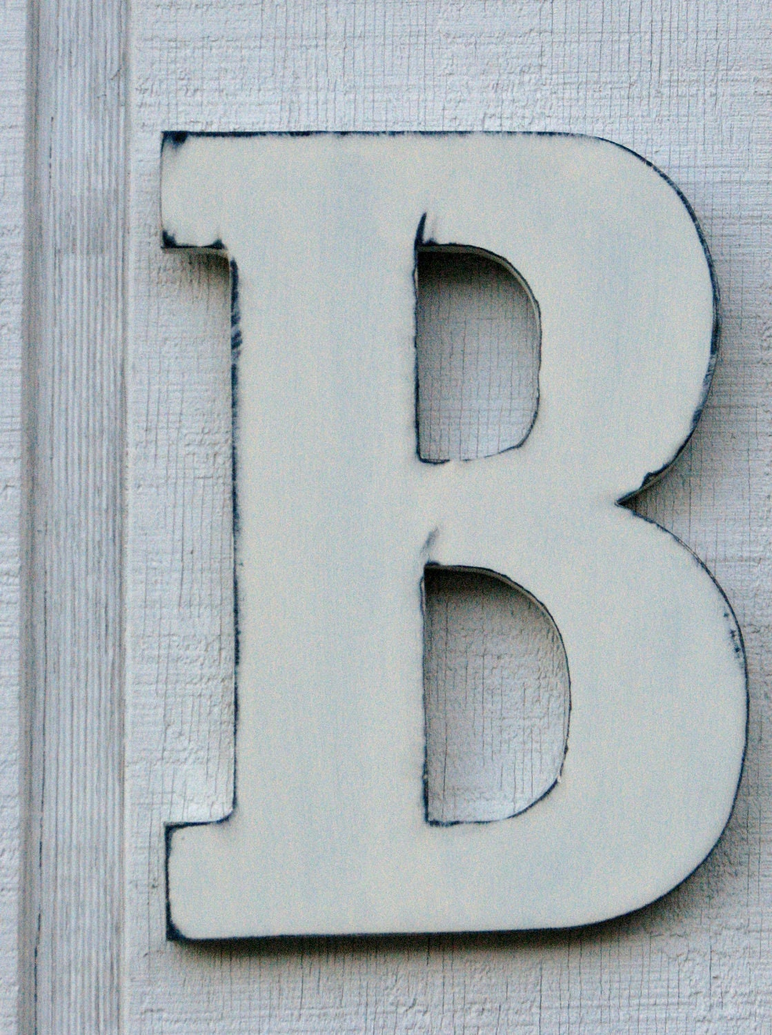 Items similar to guest book large wooden letters rustic for Big wooden letter b