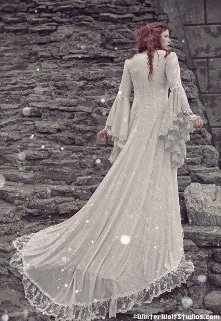 Mittelalter-Brautkleid  mittelalter  Pinterest