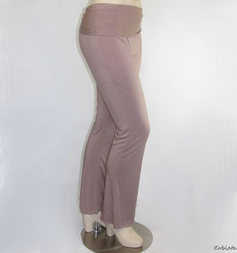 *Kobieta SALE* Womens Yoga Pants~Bootcut in Almond~Ready To Ship Size 16/18/20