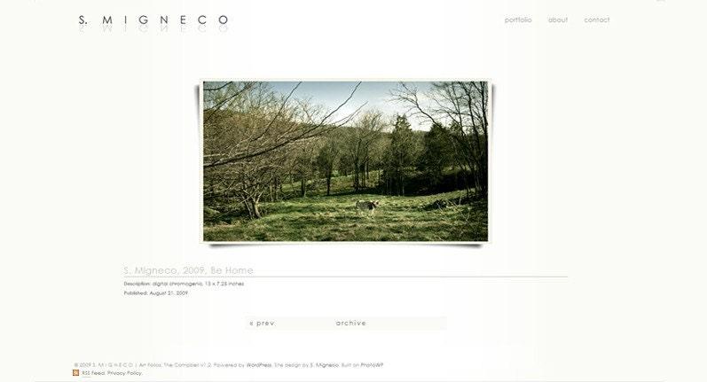 I wanted to do a postmortem walkthrough on one of my portfolio pieces. WordPress Art Folio, Portfolio