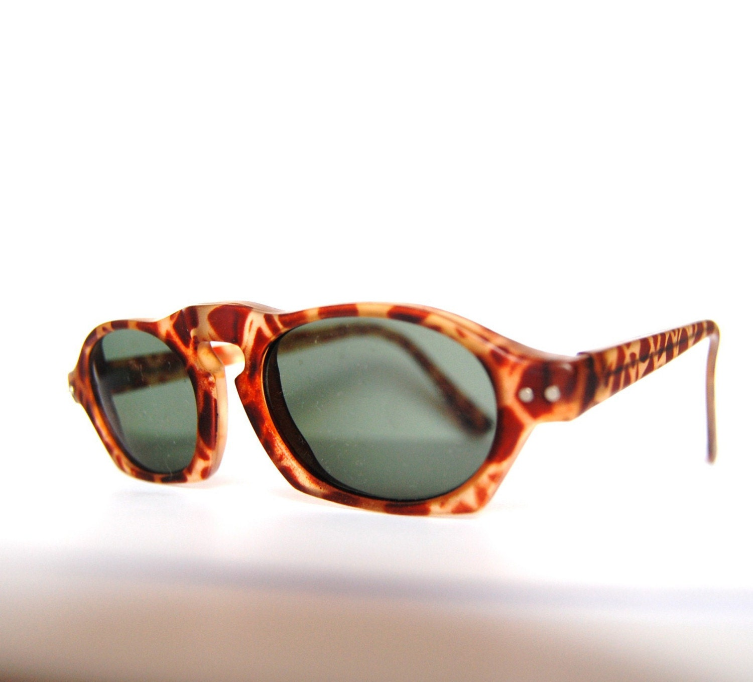 Vintage leopard sunglasses Germany by RetroEyewear on Etsy from etsy.com
