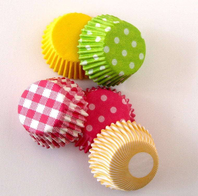MINI Spring Mix Cupcake Liners (100)