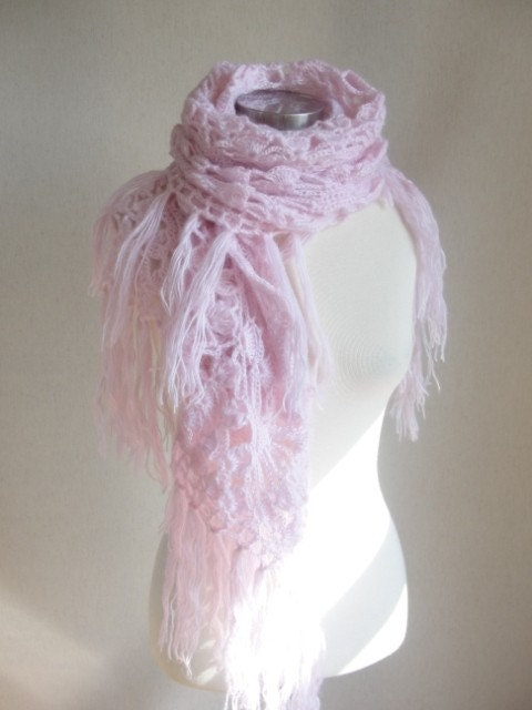 PINK IMPRESSIVE SHAWL-REAL SOFT-LOVE-REAL CHEAP-REAL QUALITY-READY TO SHIP-A BEAUTIFUL GIFT