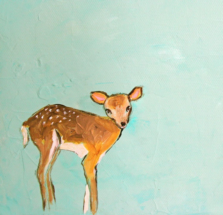 Little Deer (5x7 Print)