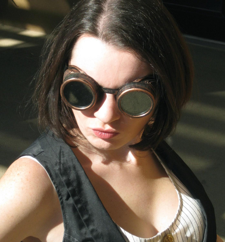 Steampunk Goggles Copper Finish - Steampunk101