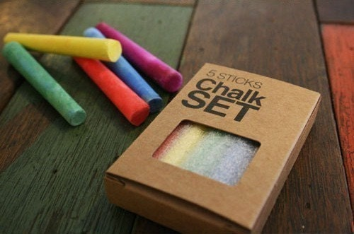 Multi Chalk Sticks Set of 5
