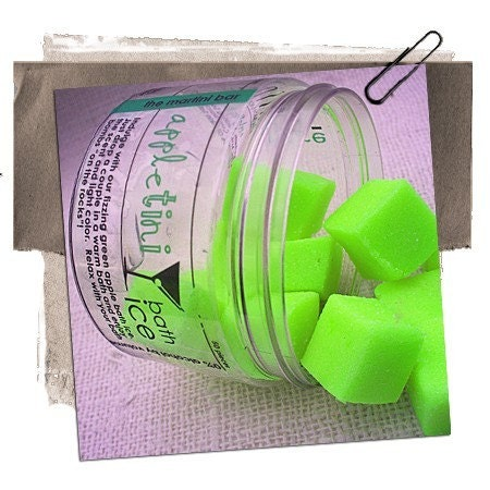 FREE SHIPPING TIL MONDAY Appletini Sugar Scrub On The by PureIntox from etsy.com