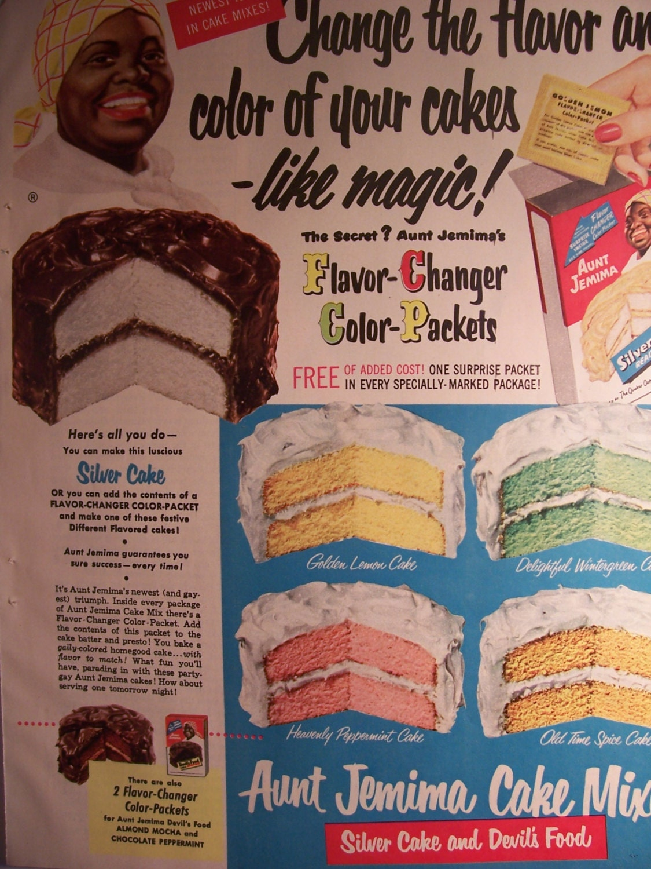 Http Www Etsy Com Listing 121145966 Aunt Jemima Cake Mix Flavor Changer