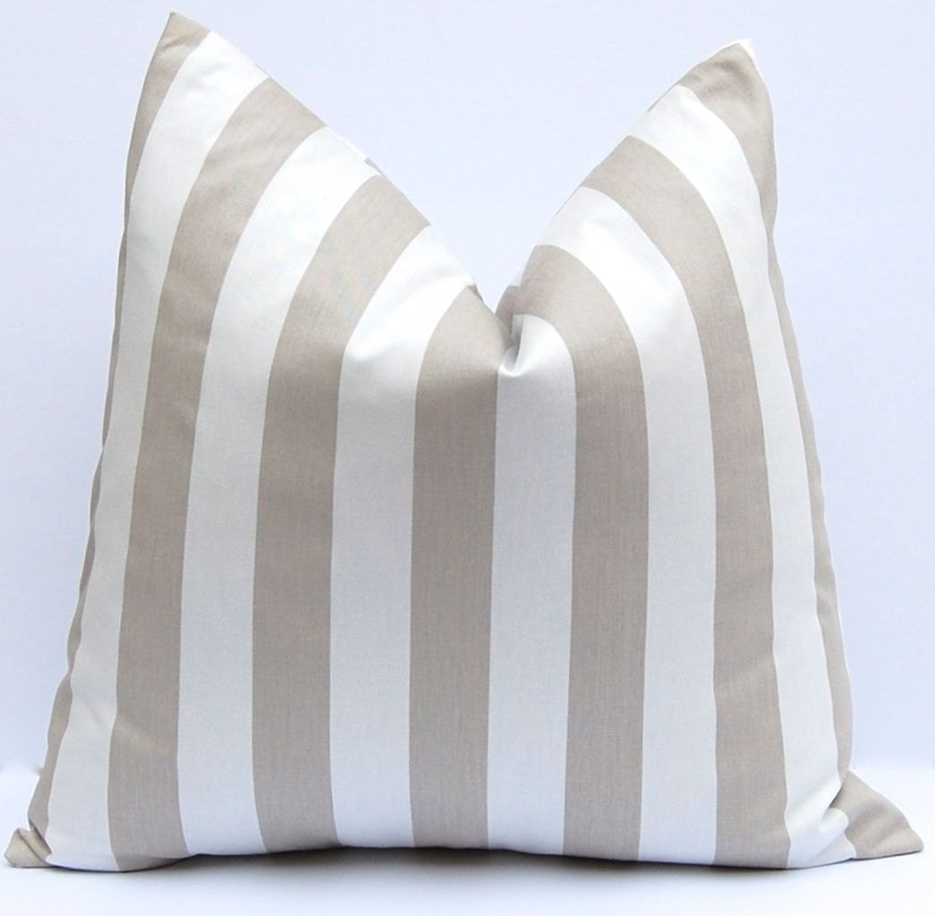 Euro Sham One Decorative throw pillow covers by FestiveHomeDecor
