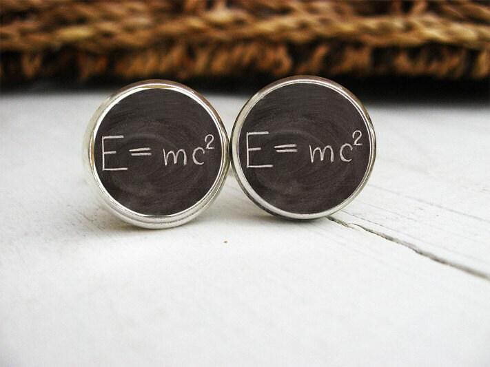 Theory of Relativity Cufflinks