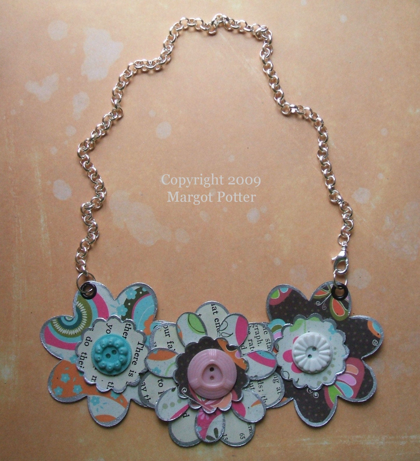 Crazy Daisy Bib Necklace