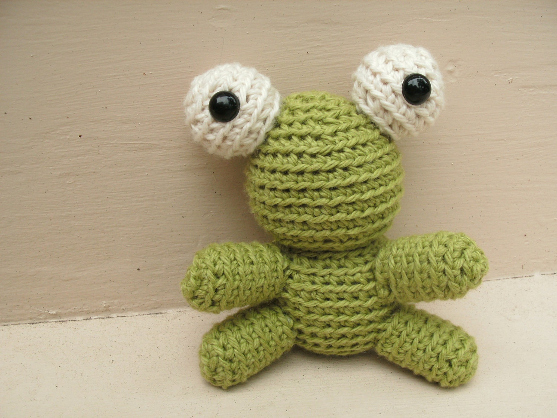 Amigurumi PATTERN Tiny Crochet Frog pdf by FreshStitches ...