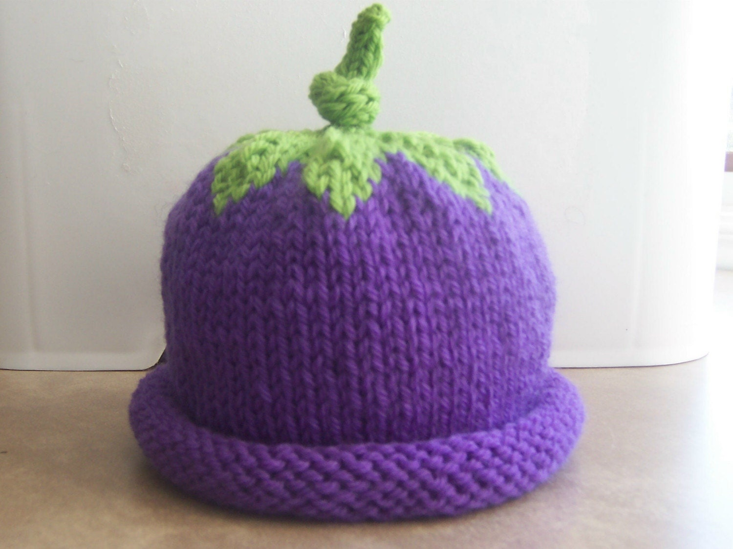 Grape Baby hat READY TO BE SHIPPED