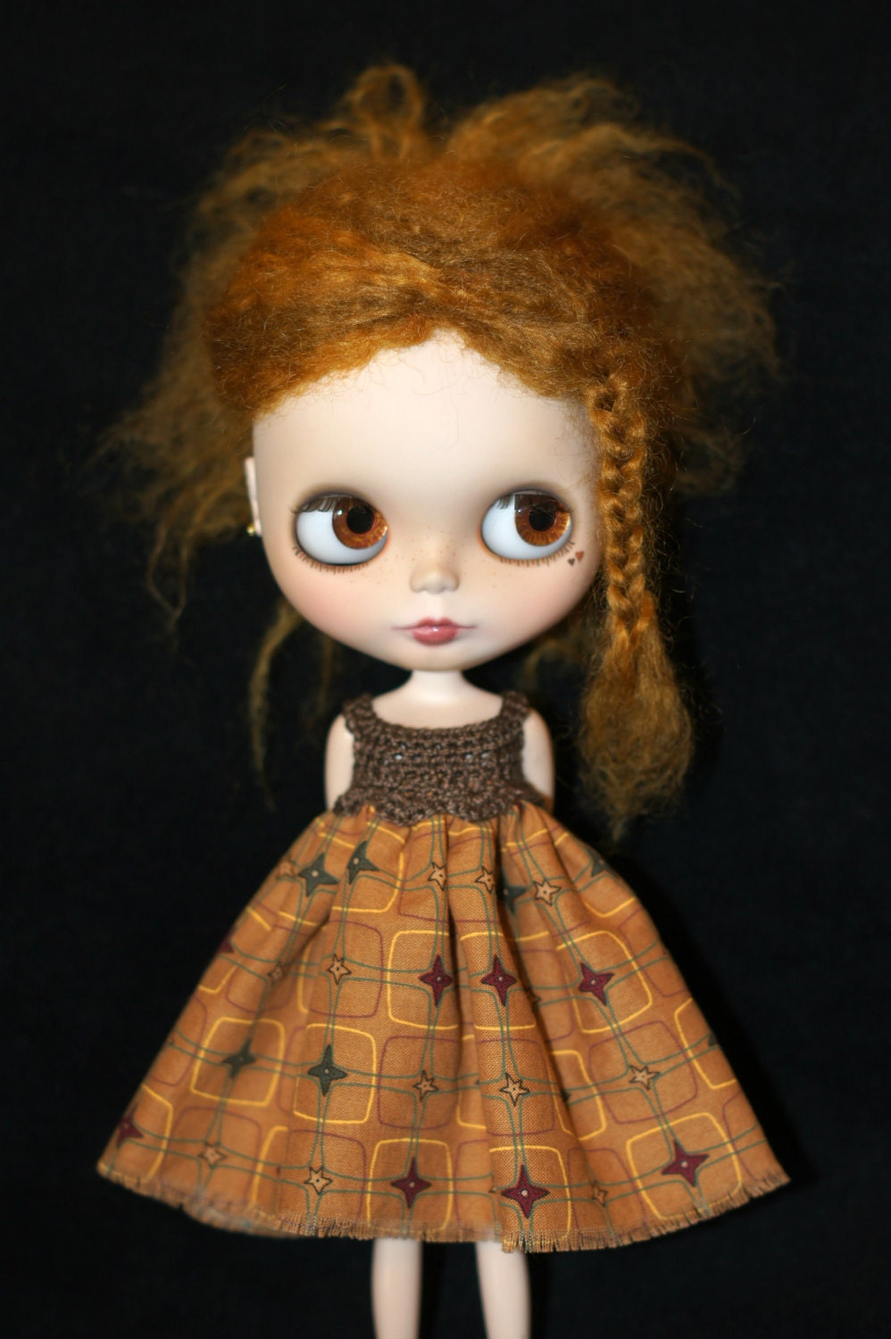 Blythe Rag Bag Designs Western Dress