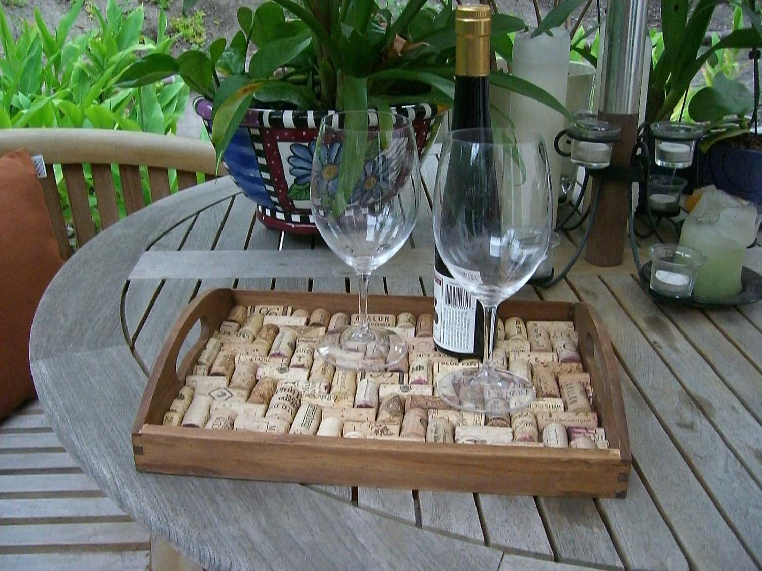 Wine Cork Tray by The Cork House