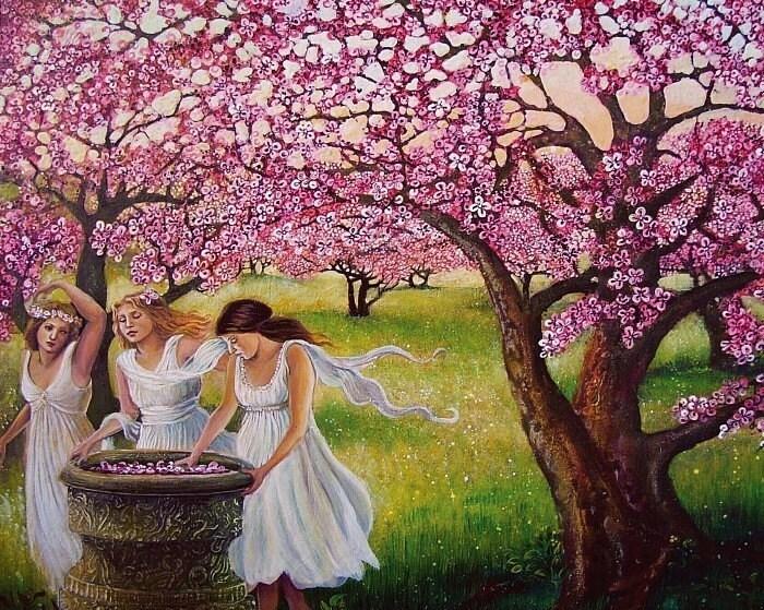 Spring Nymphs - 8x10 Print