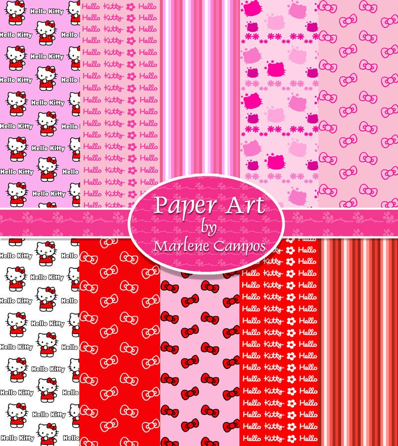 Hello Kitty Arts And Crafts. Hello Kitty Digital Scrapbook