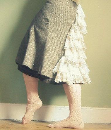 Shimmering tweed