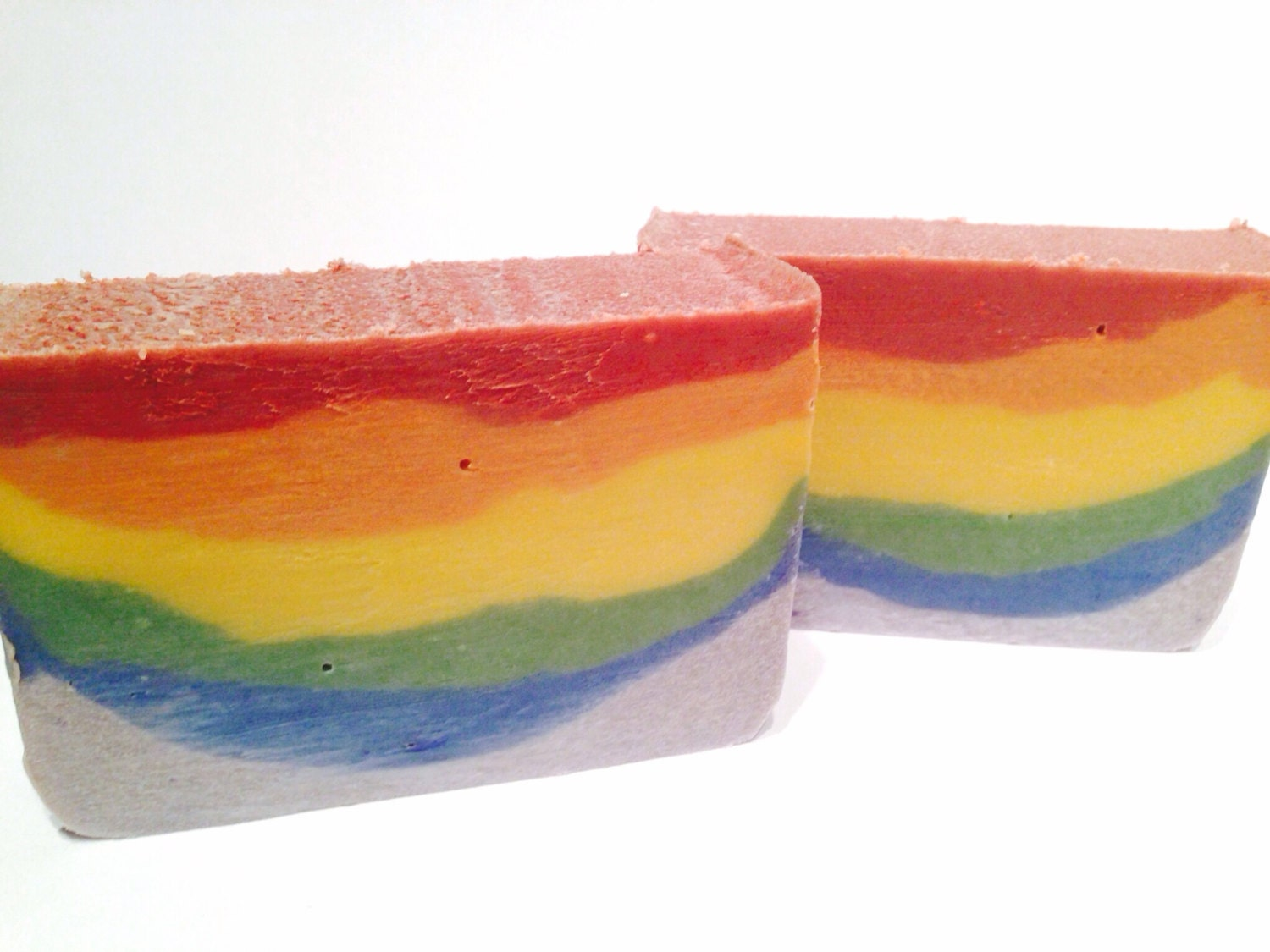 Rainbow Coconut Milk Soap- Shea Butter Soap - Pride Soap - Penori