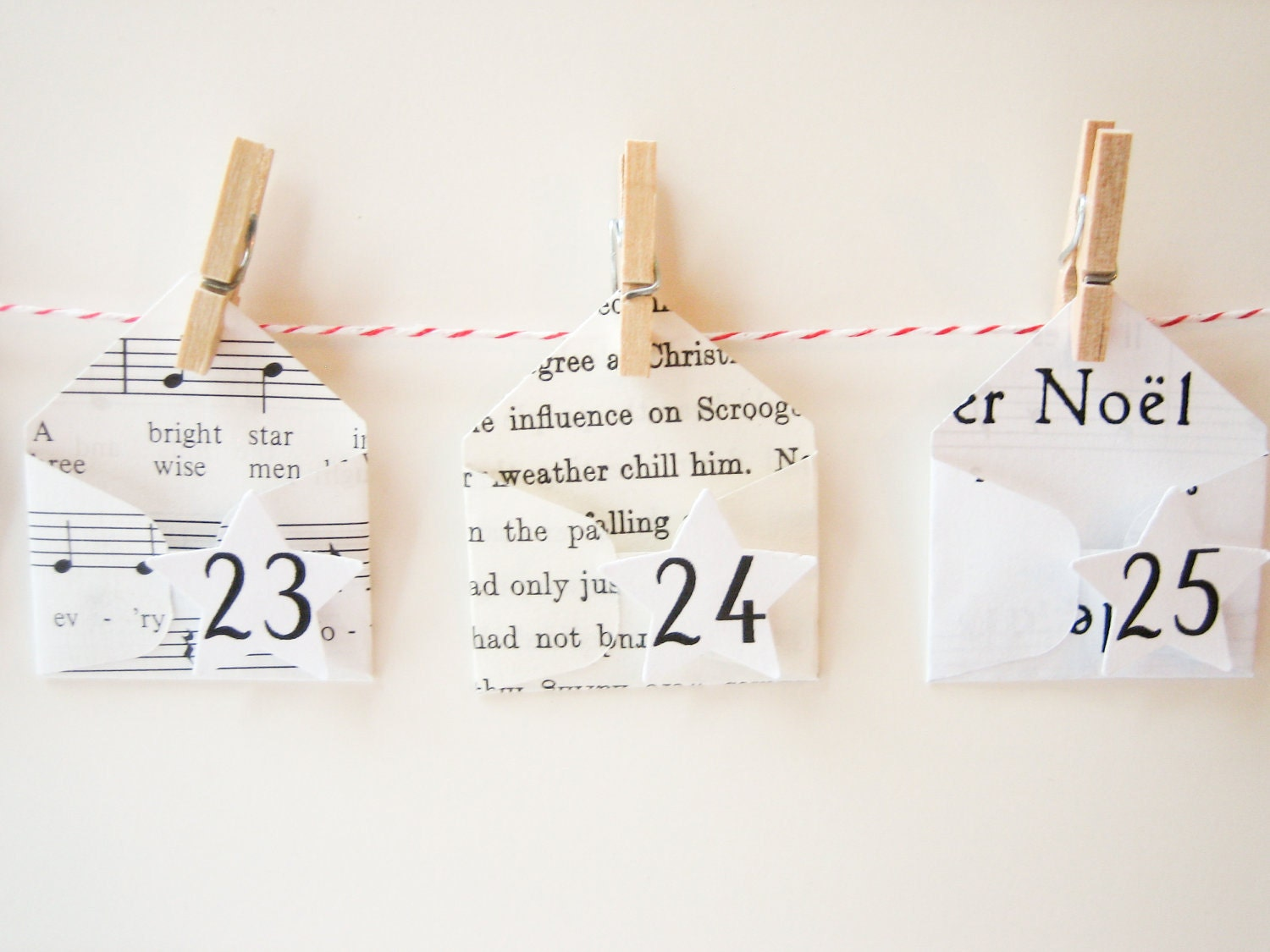 Advent Calendar Design Your Own : Advent calendar diy kit create your own garland with by