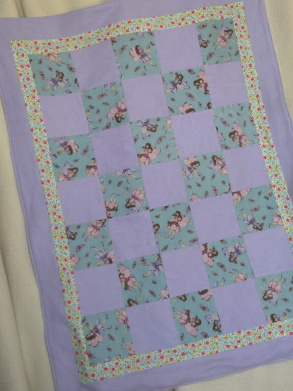 Fairy Patchwork Blanket