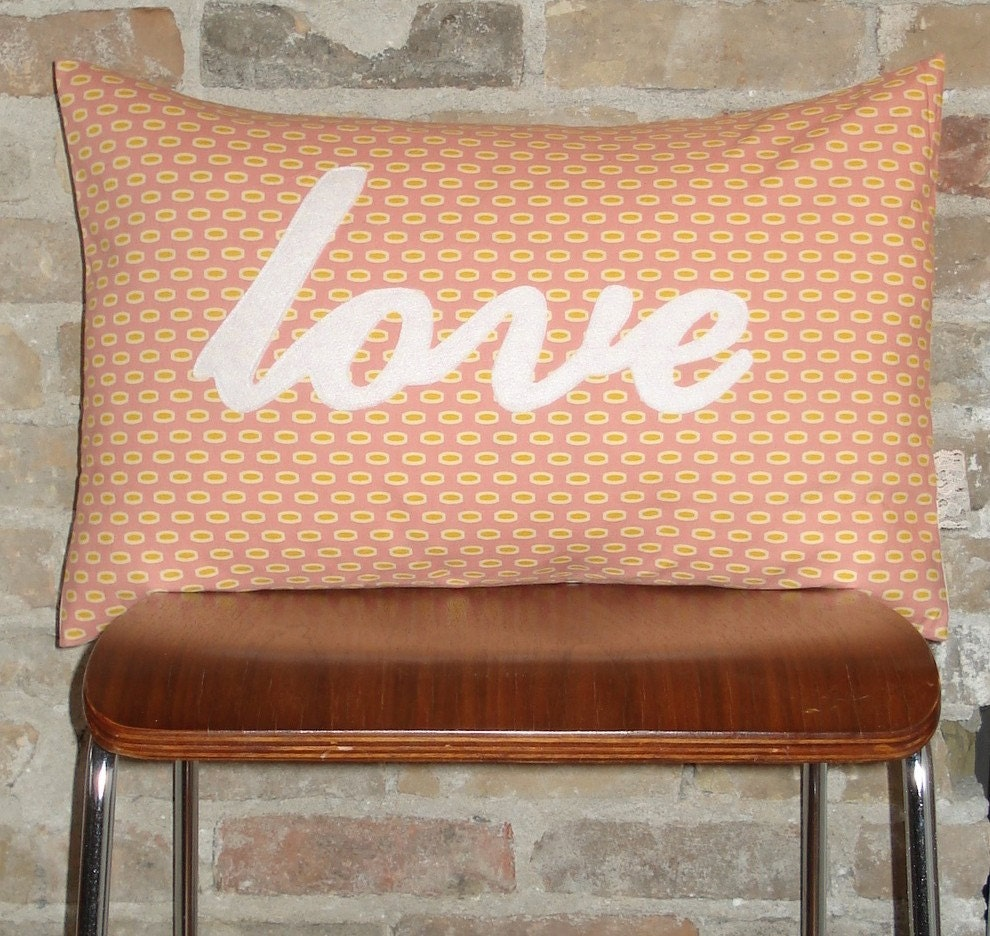 love pillow case 16x24