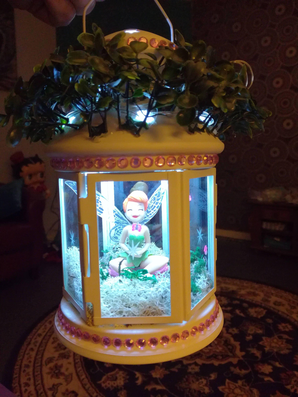 Tinkerbell inspired fairy lantern