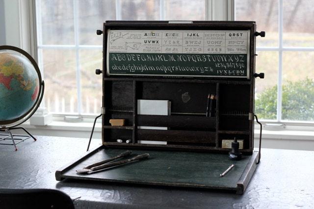 Antique Chautauqua Industrial Art Desk Reserved By