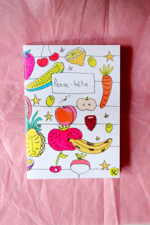 """Petit carnet de note """" pense bête """""""