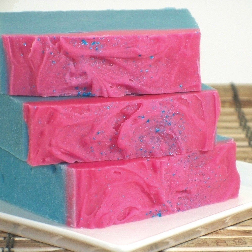 Blue Hawaii Shea and Cocoa Butter Cold Process Soap--