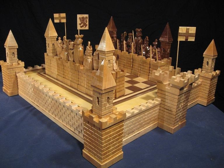 The Scottish Wars for Independence Chess Set by Jim Arnold