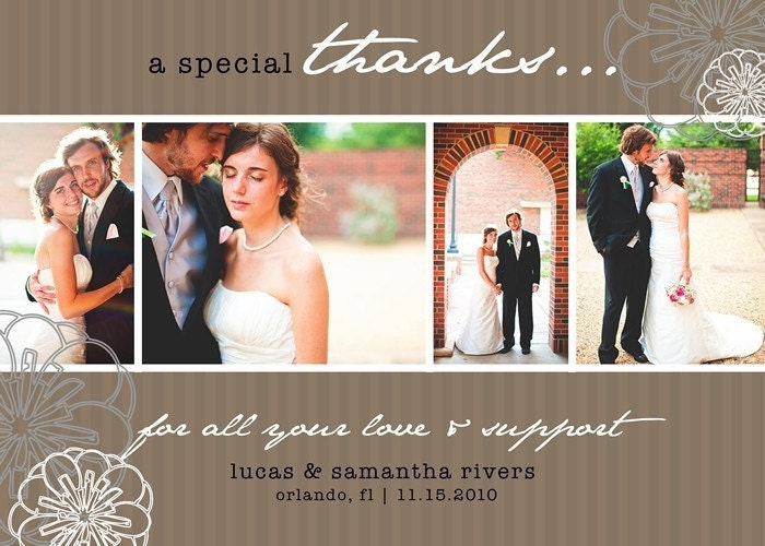 Wording For Thank You Cards For Wedding Money Images