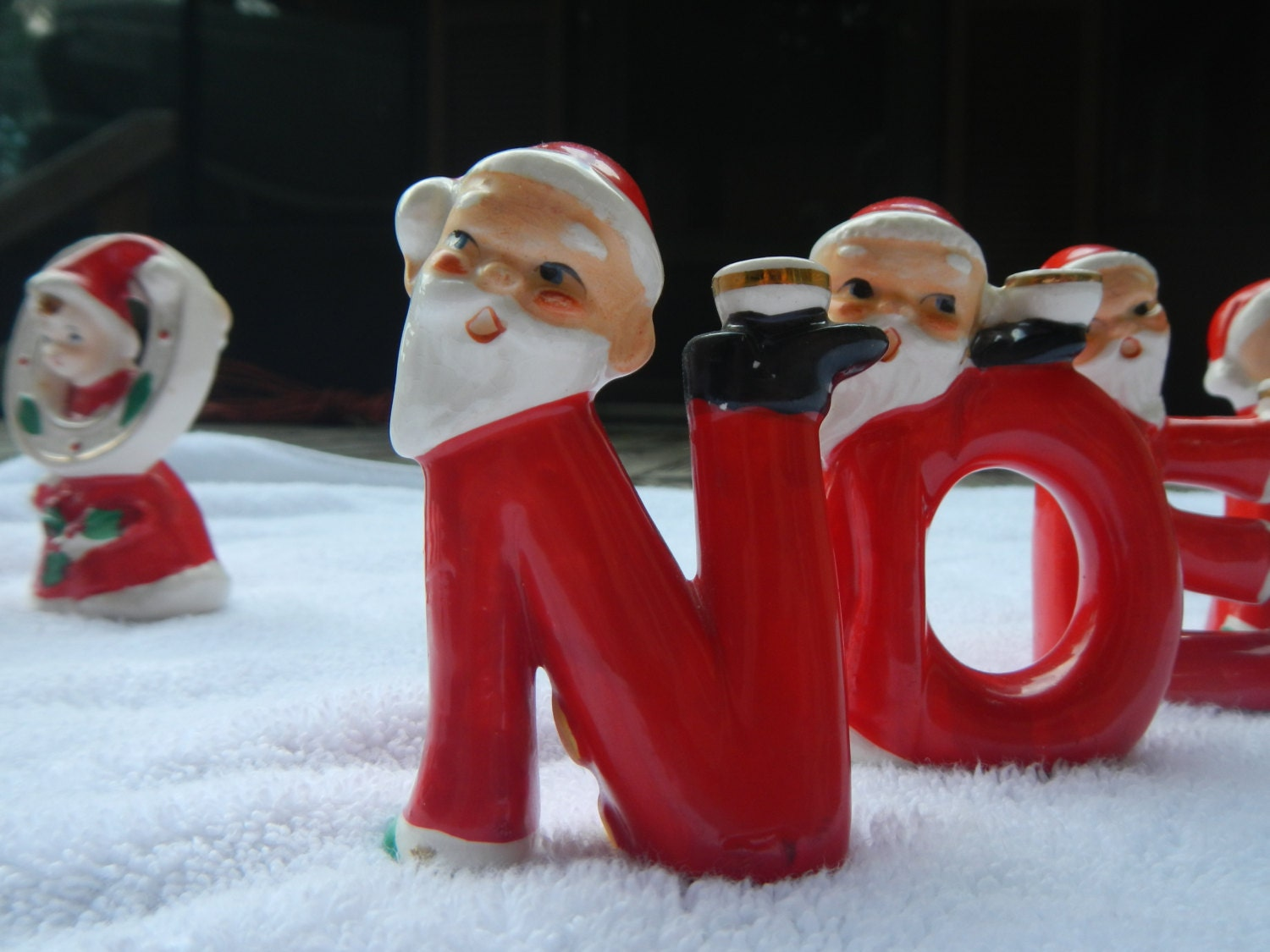 Vintage Hard To Find Noel Relco Santa Claus By