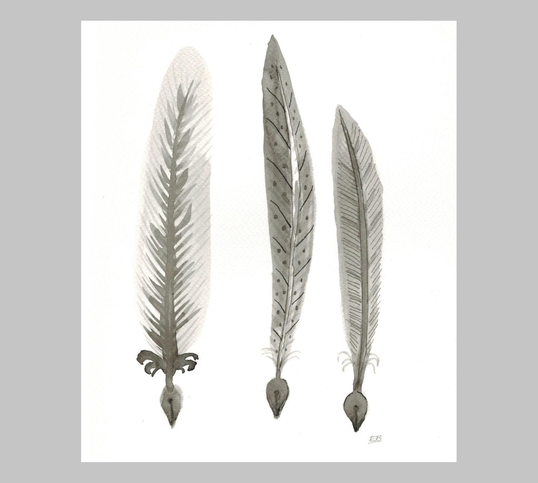 custom writing quills