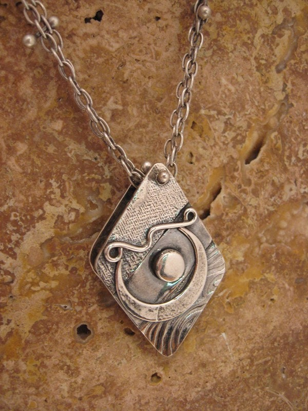 Spirit Box Moon Pendant - FREE Shipping