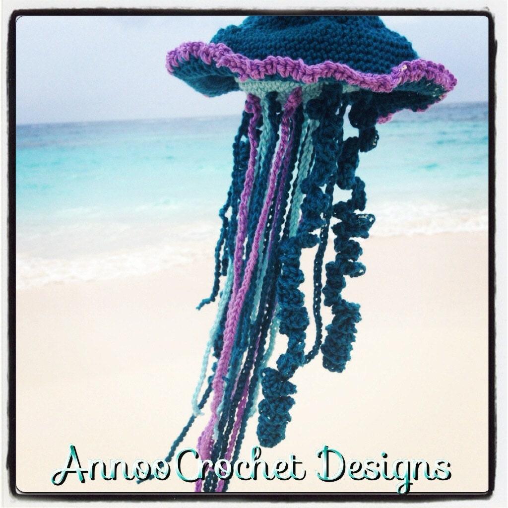 Onigiri Amigurumi Pattern Free : JellyFish Amigurumi Pattern by AnnooCrochet on Etsy