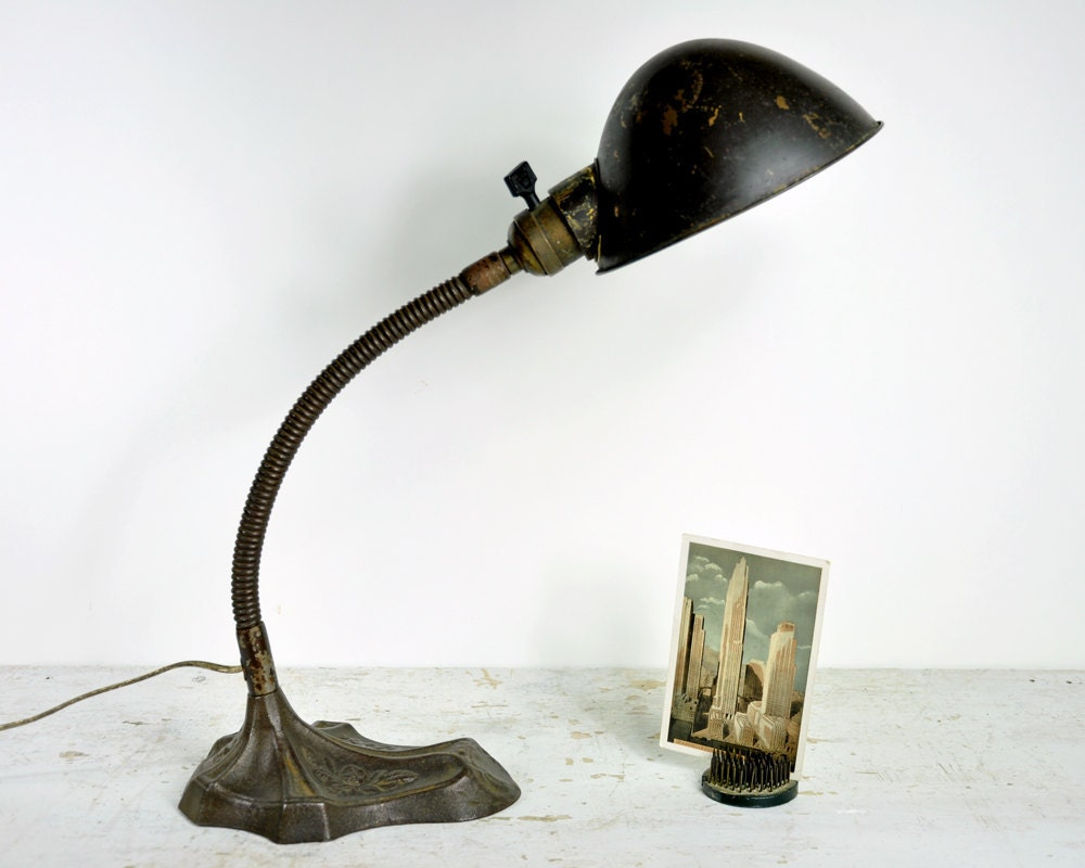Southwestern Table Lamps Vintage Desk Lampindustrial