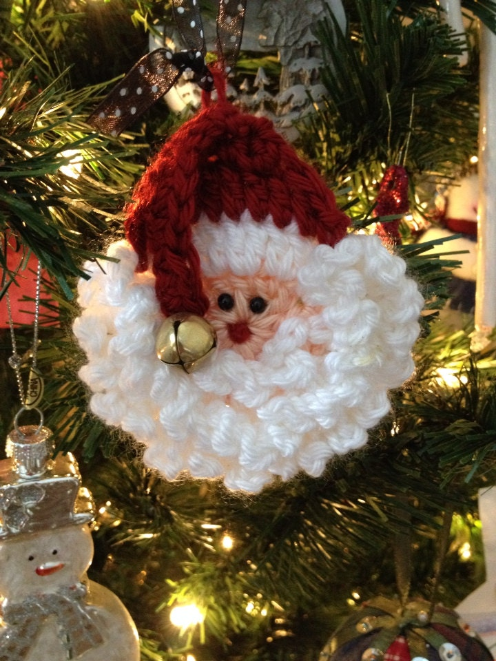 Crochet Santa Pattern Easy And Fast Use As A Pin By