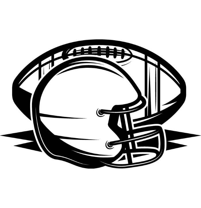 Football Helmet Svg Etsy