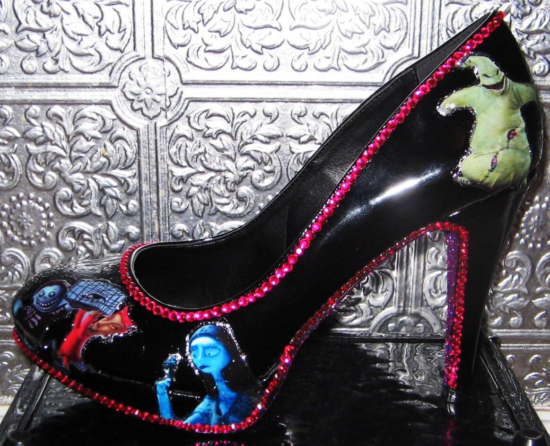 Nightmare Before Christmas Shoes Heels