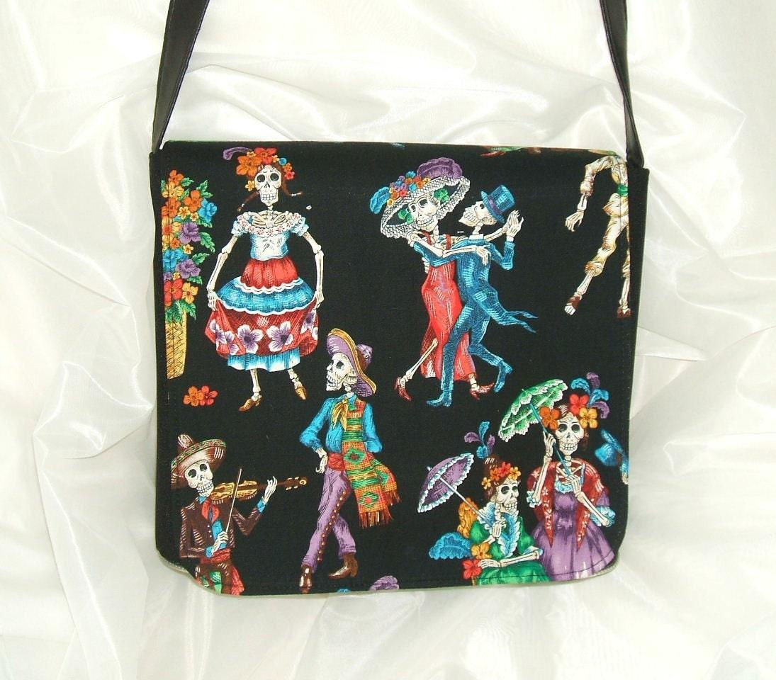 Mexican Dance Messenger Bag